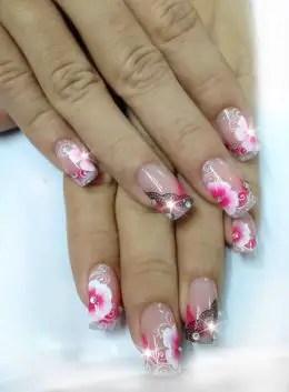 SNS Pink white