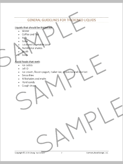 'Adult Speech Therapy Patient Handouts' for Virtual and In