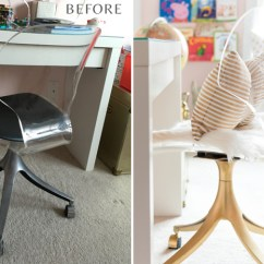 Desk Chair Diy Covers Pier One Glam Office Makeover The Home I Create Before After