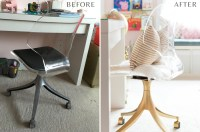 Glam DIY Office Chair Makeover - The Home I Create