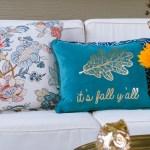 Easy Diy Throw Pillow Covers Using Cloth Napkins The Home I Create