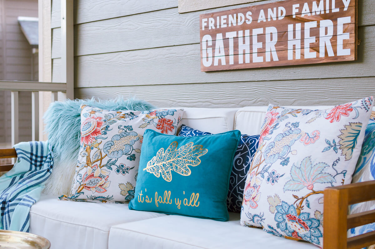 easy diy throw pillow covers using