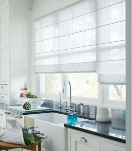window blinds for kitchen