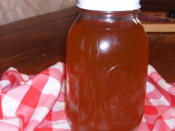 Homegrown Honey for wine