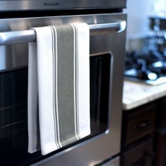 Gray Kitchen Towels Cheap Chairs Set Of 4 Everything To Know About Thehomemakersdish Com Towel On An Oven