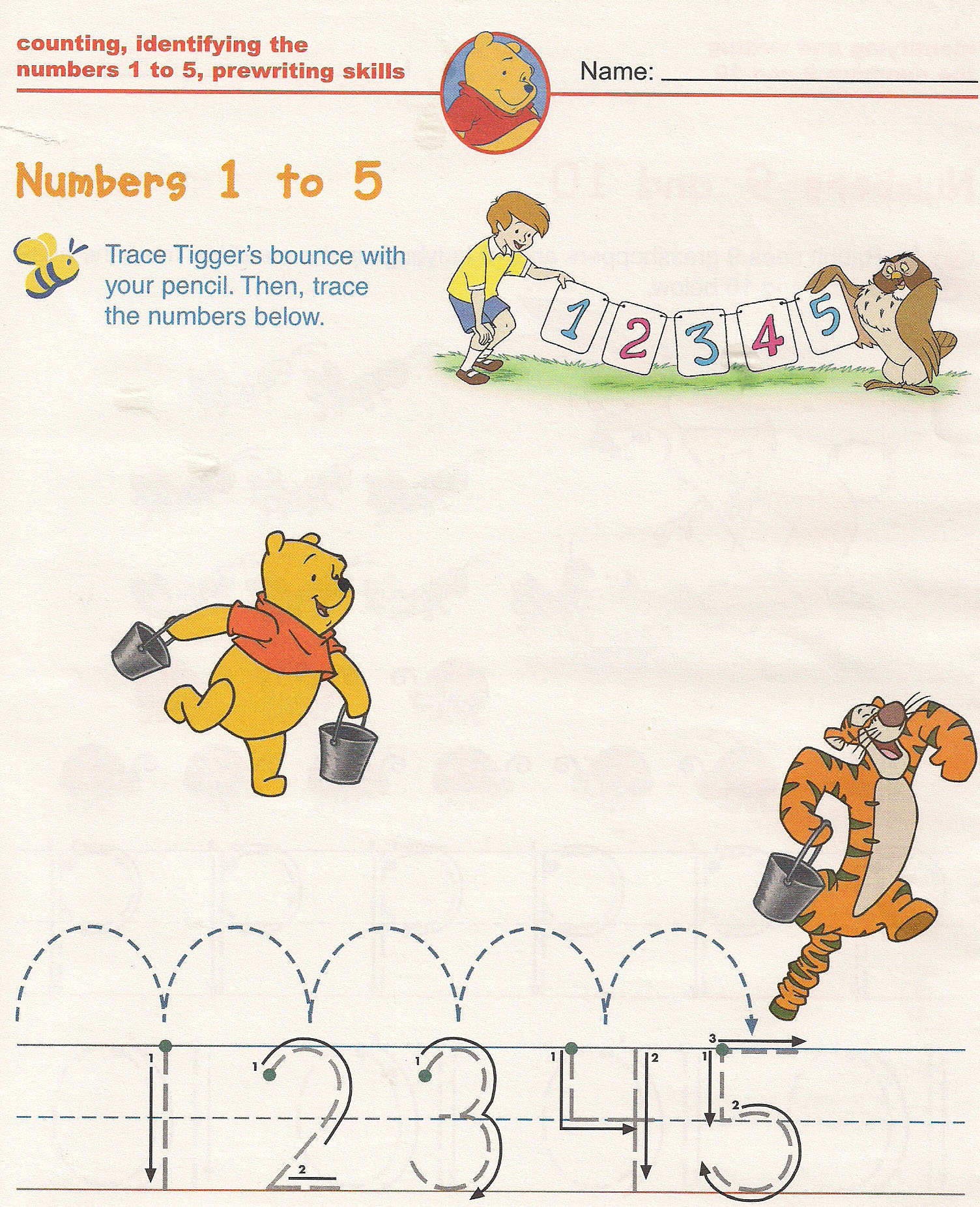 Counting Number Math Worksheets For Kindergarten Kids