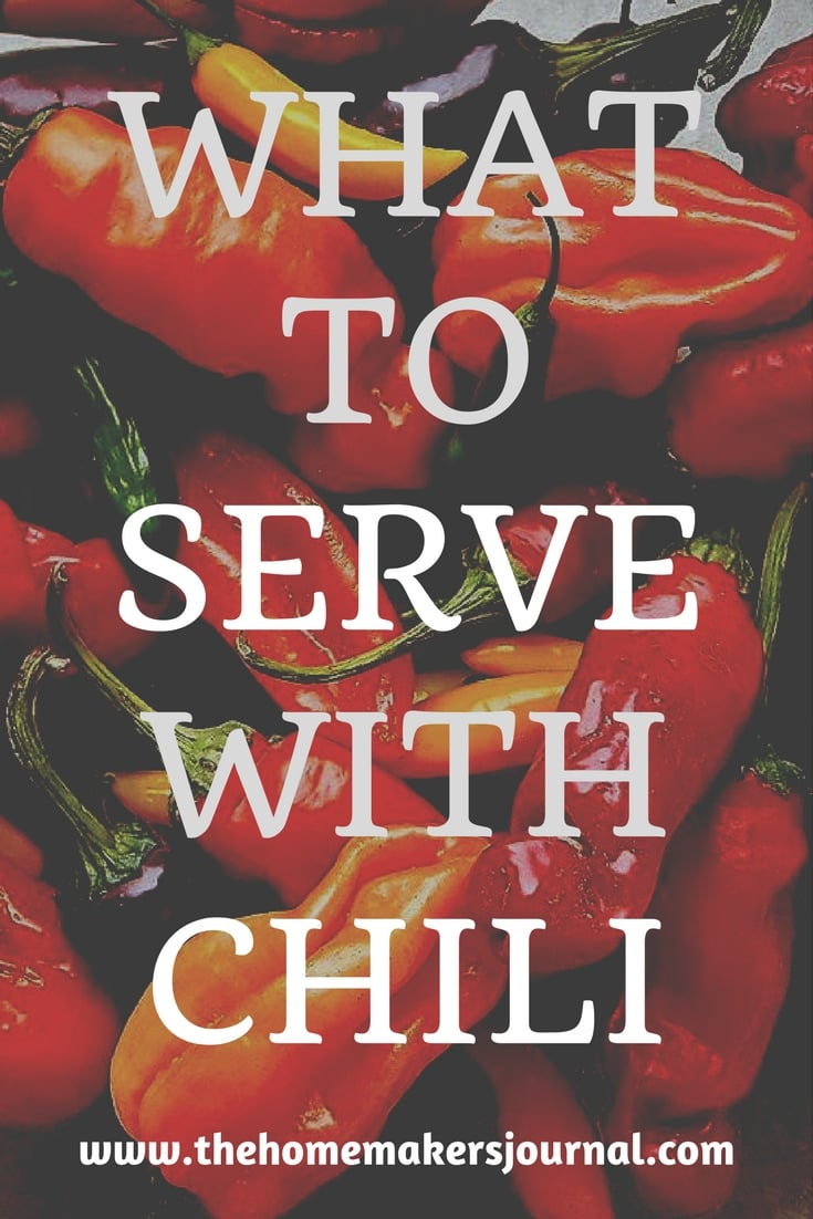 What To Serve With Chili