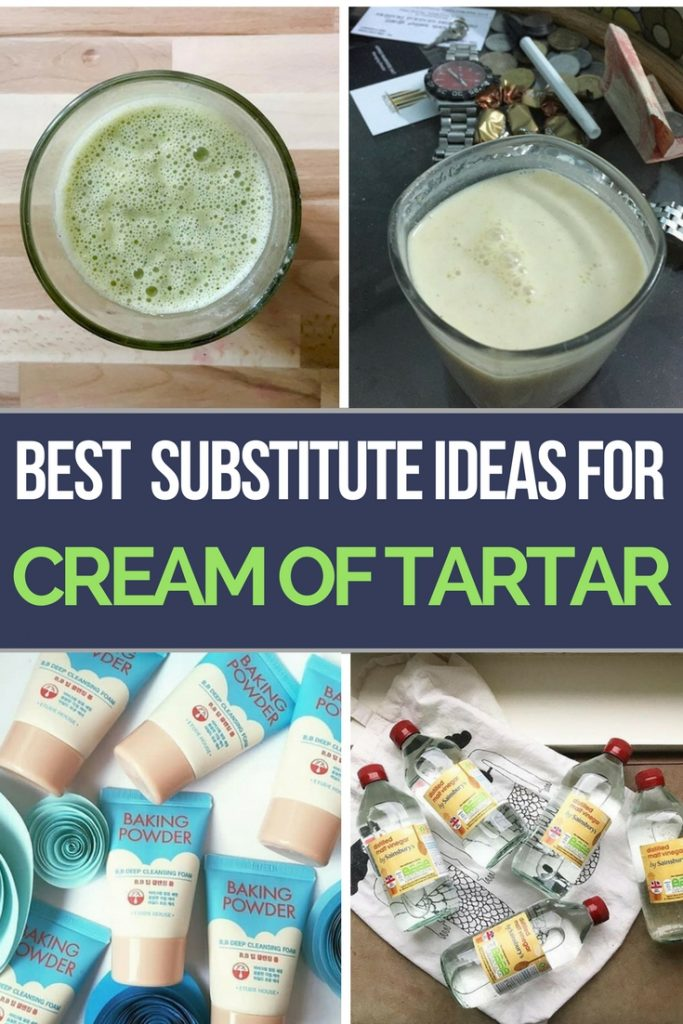 Best Substitutes for Cream of Tartar