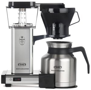 KBTS 8-Cup Polished Silver Coffee Maker