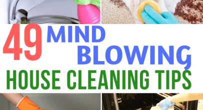 49 Best House Cleaning Tips and Tricks in 2020