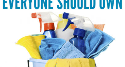 23 Must Have Cleaning Supplies in 2020
