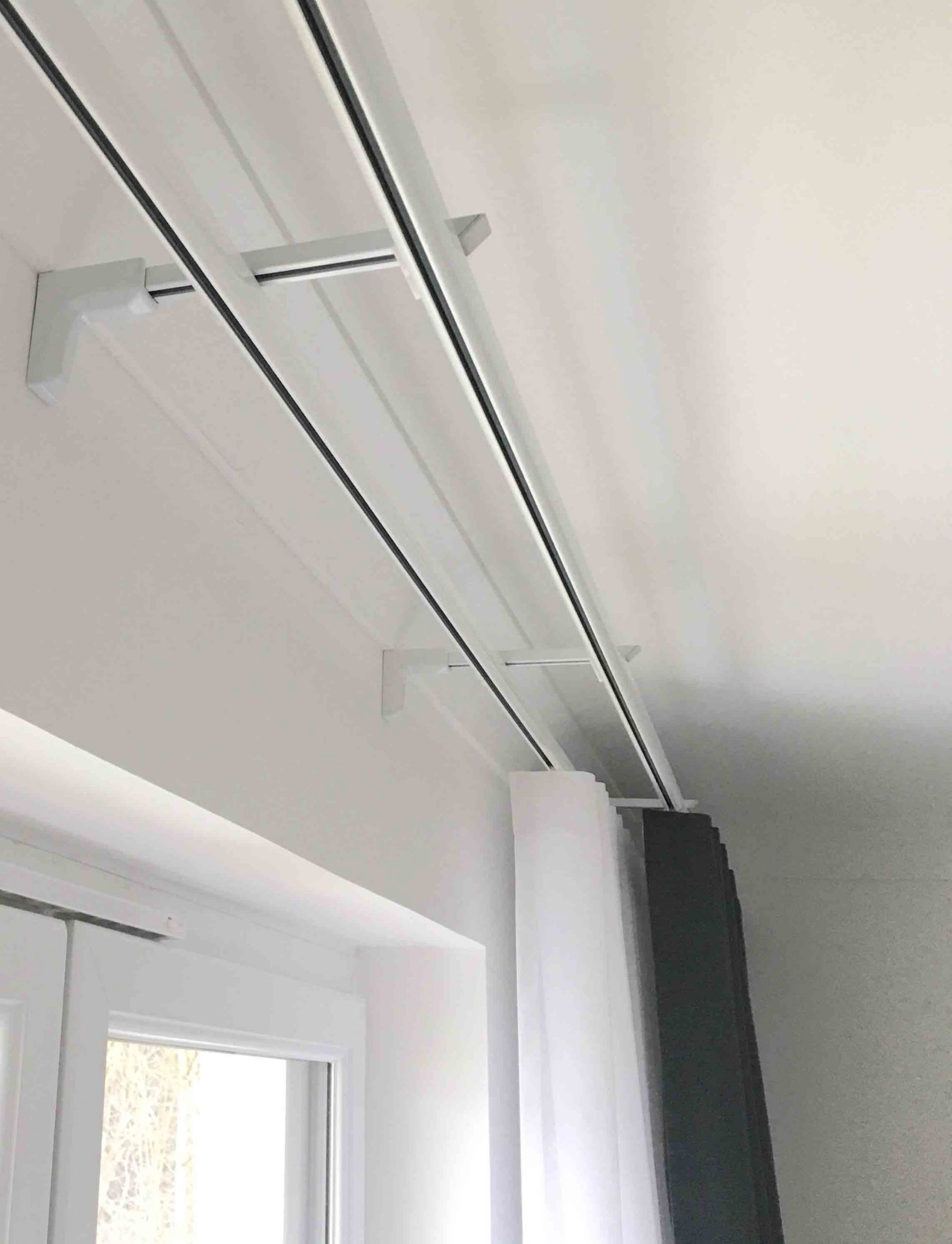 silent gliss double track 6840 6840 wave glider curtain track system
