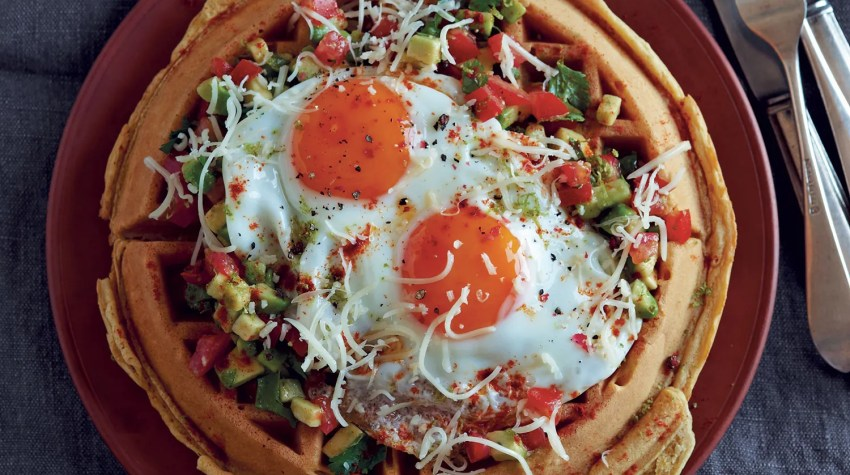 Huevos-Rancheros-waffles-centered