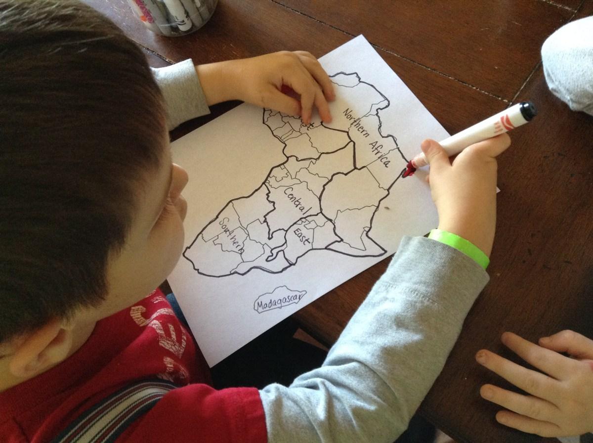 Africa Activities for Kids