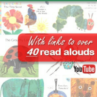 Complete Eric Carle Book List with links to Read Alouds