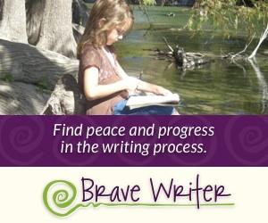 Brave Writer Curriculum Banner