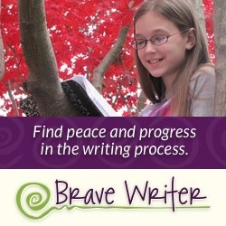 Brave Writer homeschool writing curriculum