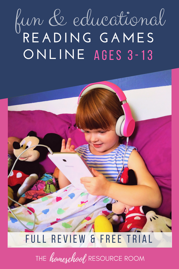 Make Learning FUN with Online Reading Games!