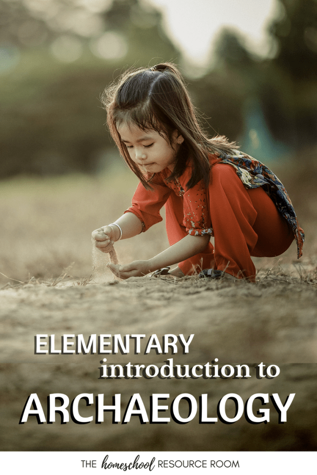 A list of archaeology resources for kids. Supplement or create Science and History lesson plans with this full list of media resources, books, and activities appropriate for elementary aged students. Studying the Ancient World? Use these resources as an introduction to your unit studies.