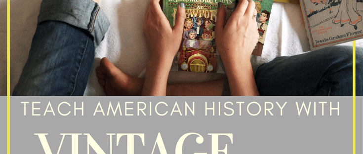 Teach American History with Vintage Adventure Stories from Aunt Claire Presents. Focus on the Progressive Era circa 1910. #homeschooling #history #suffrage #suffragette #socialstudies #education