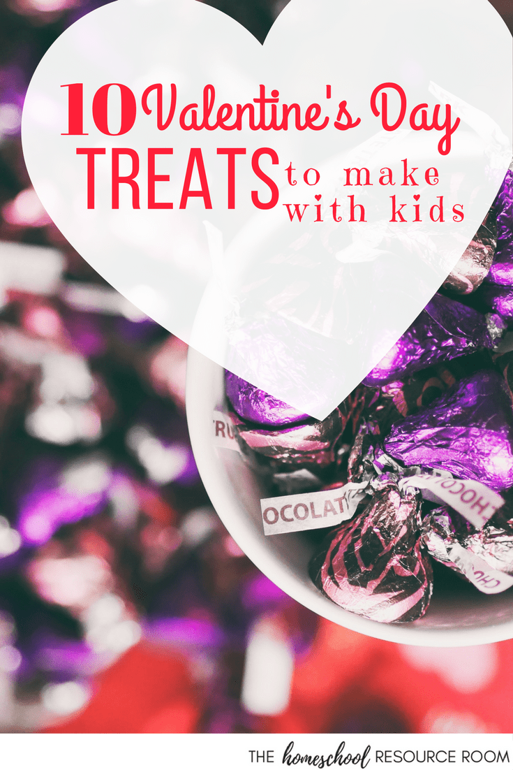 Easy Valentine's Day recipes to make with kids.