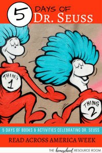 Dr. Seuss Projects for Read Across America Week - 5 days of EASY activities for your Dr. Seuss Week!