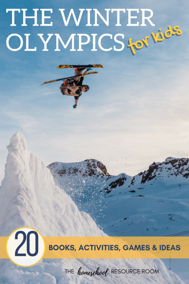 The Winter Olympics for kids - 20 books, activities, games and ideas.