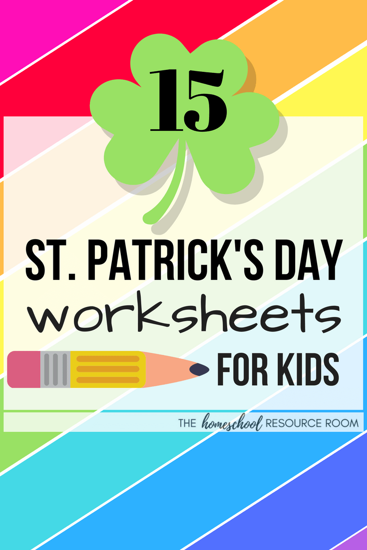 15 FUN St Patrick's Day Worksheets for Kids