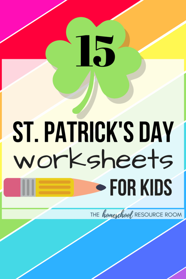 15 Fun St Patricks Day Worksheets For Kids The Homeschool