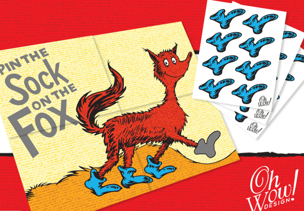 image about Fox in Socks Printable Template named 35+ FUNtastic Fox inside of Socks Things to do for Small children! The