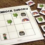 St Patrick's Day Worksheets - Sudoku