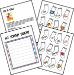 Fox in Socks activities for preschool, kindergarten, and first grade