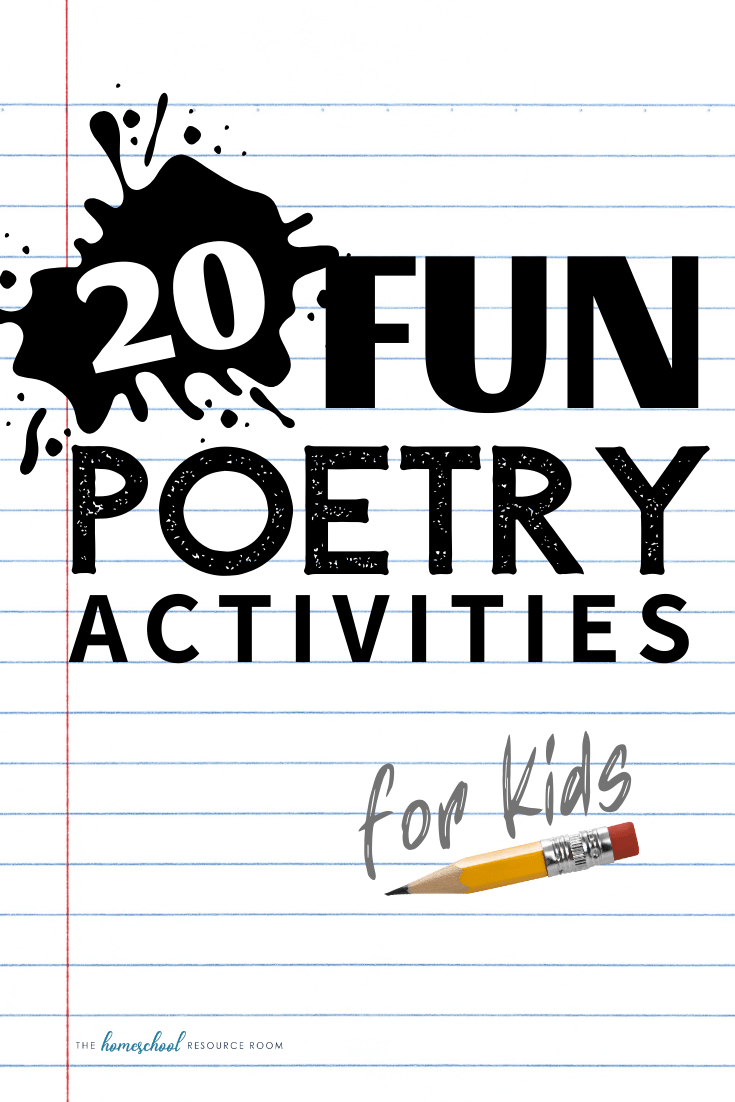 hight resolution of 20 Poetry Activities: Reading \u0026 Writing Poetry for Kids of All Ages