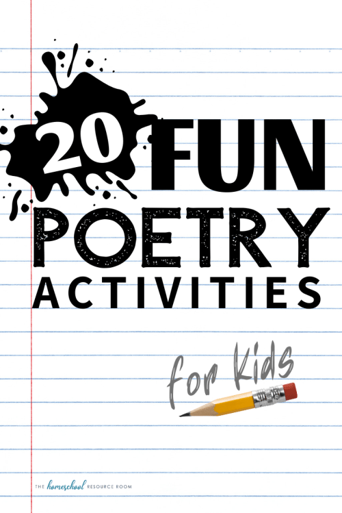 small resolution of 20 Poetry Activities: Reading \u0026 Writing Poetry for Kids of All Ages