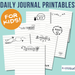 Daily Bullet Journal Pages for Kids
