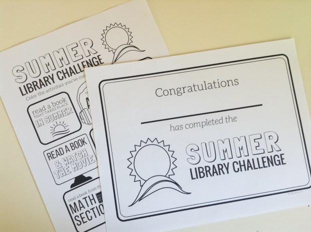 Library Reading Challenge