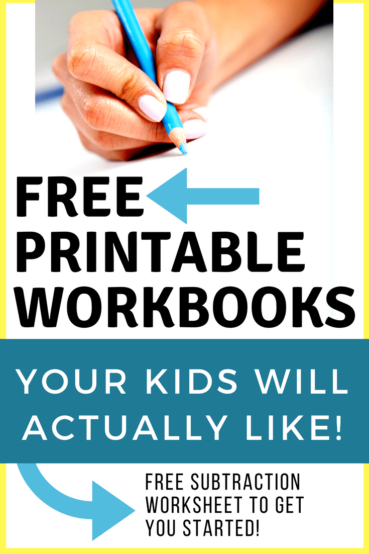 homeschool workbooks
