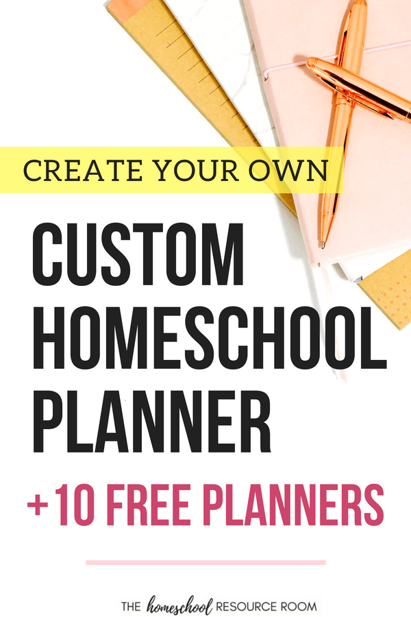 photo relating to Free Homeschool Planner Printable identify Totally free Homeschool Planners towards Produce Your Customized Binder! The