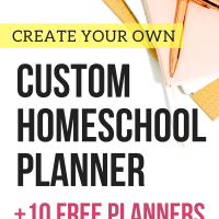 Free Homeschool Planners to Create Your Custom Binder!