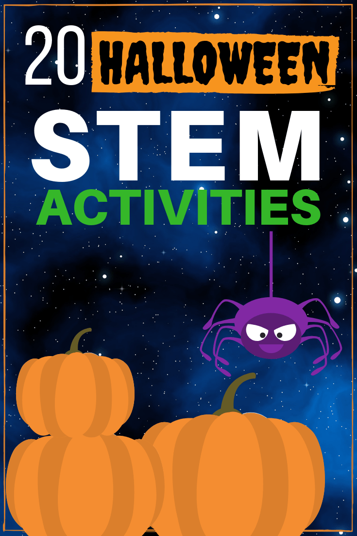Twenty Halloween STEM activities for October!