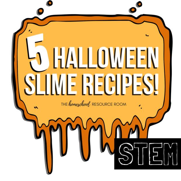 20 Halloween STEM Activities: 5 Halloween Slime Recipes