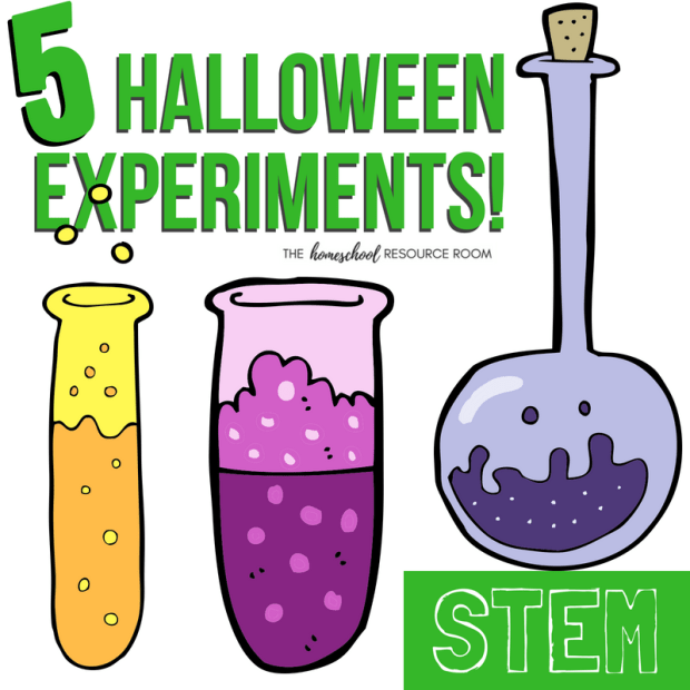 20 Halloween STEM Activities: 5 Halloween Science Experiments