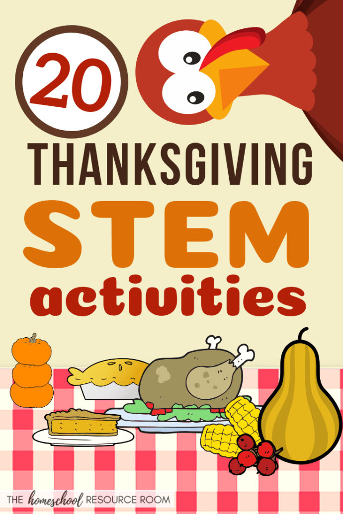 Thanksgiving STEM Activities - Thanksgiving and fall themed slime recipes, turkey activities, experiments, and fun with Thanksgiving foods. Great hands-on STEM activity list for November!