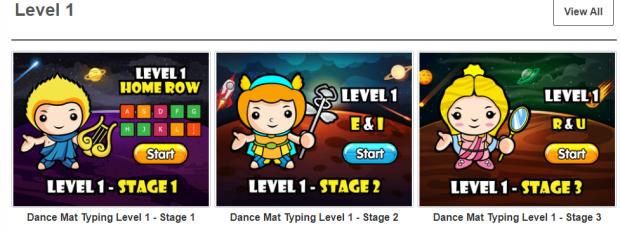 Free Typing Games