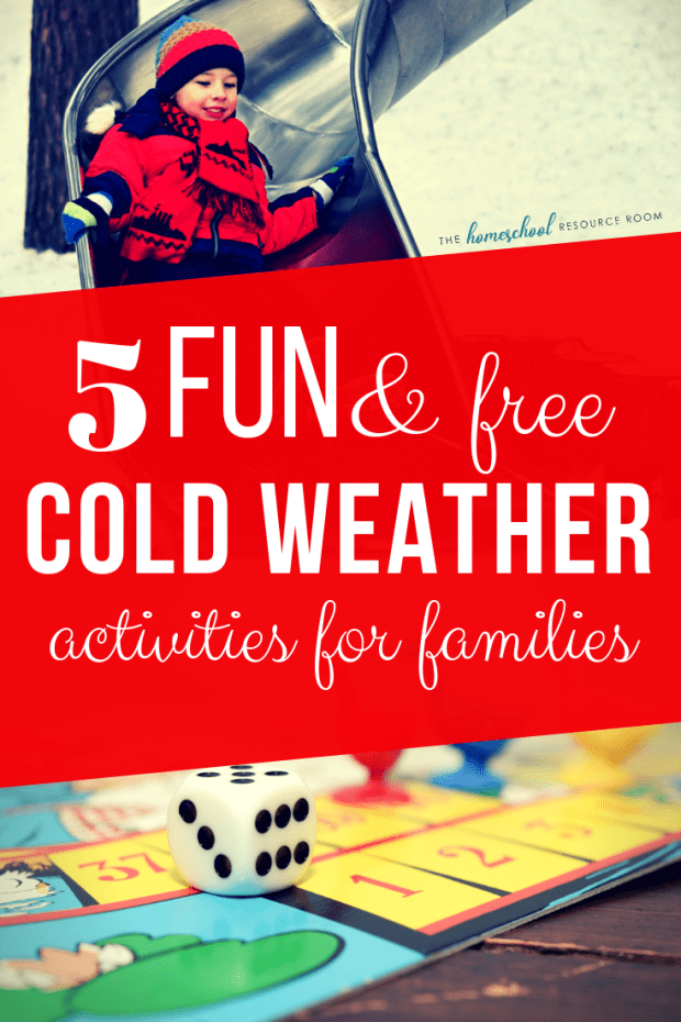 Ready for some Winter FUN? Check out these five great ideas for activities you will enjoy as a family!