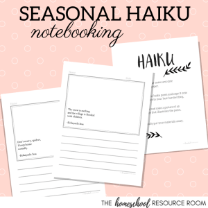 Haiku Worksheets