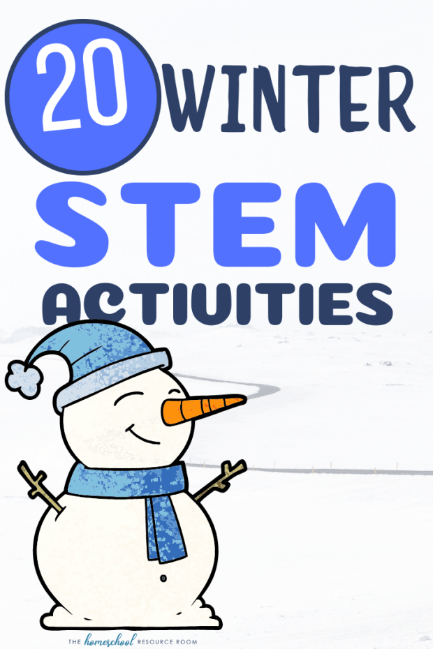 20 Winter STEM Activities for hands on science! Find snow science, slime chemistry, arctic animal experiments, winter kitchen science!