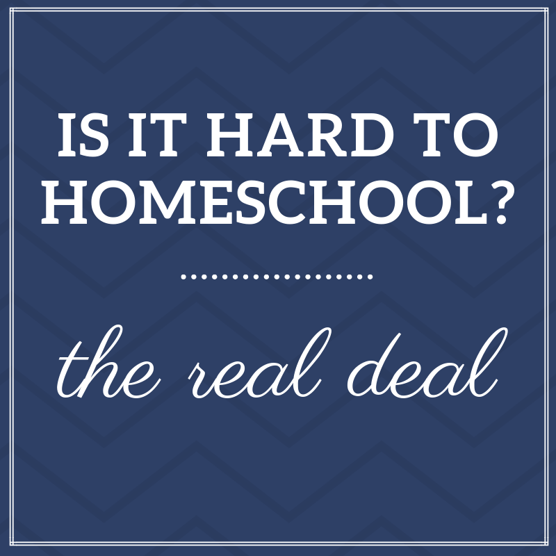 Is homeschooling hard?