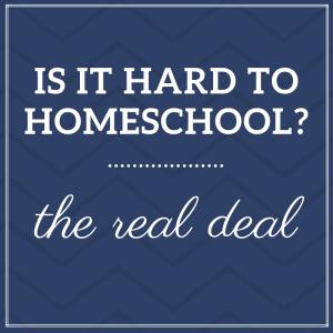 Is homeschooling hard?