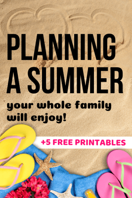 Planning a summer schedule your whole family can enjoy!